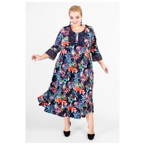 Платье ARTESSA PP34211MLC11 королевский синий размер 68-70 платье molo размер 68 синий