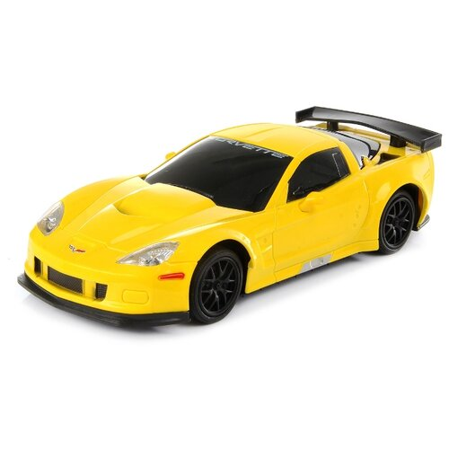 Легковой автомобиль Hoffmann Chevrolet Corvette C6.R (82684) 1:24 19 см желтый