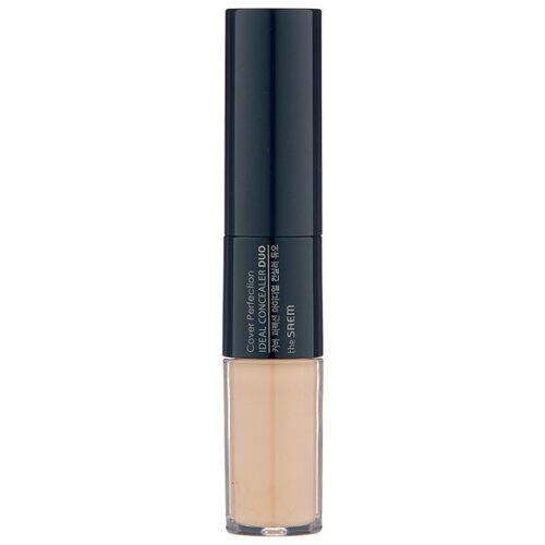 The Saem Консилер Cover Perfection Ideal Concealer Duo, оттенок 1.5 Natural Beige the saem консилер стик cover perfection stick concealer оттенок 02 rich beige