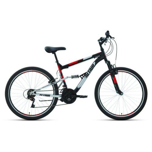 """Горный (MTB) велосипед ALTAIR MTB FS 26 1.0 (2020) черный 18"""" (требует финальной сборки)"""