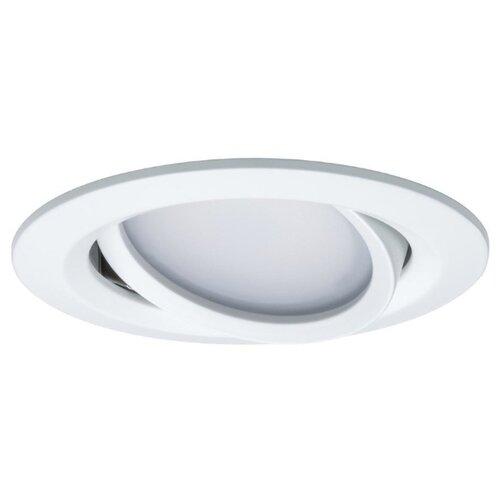 Встраиваемый светильник Paulmann Premium Smartcoin Ble Tunable 93936 3 шт встраиваемый светильник paulmann premium line 17943