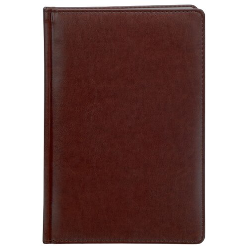 Купить Ежедневник Index Avanti недатированный, искусственная кожа, А5, 168 листов, коричневый, Ежедневники, записные книжки