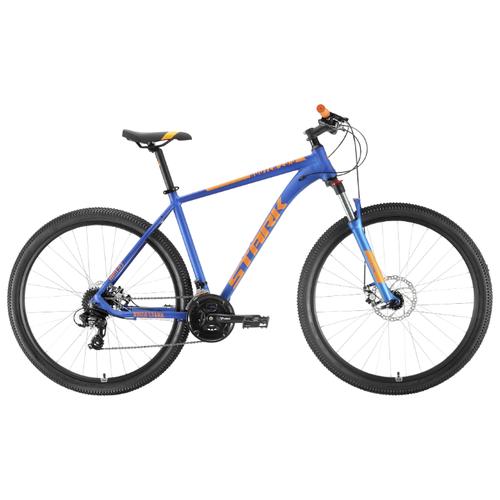 Горный (MTB) велосипед STARK Router 29.3 D (2020) синий/оранжевый 22 (требует финальной сборки)