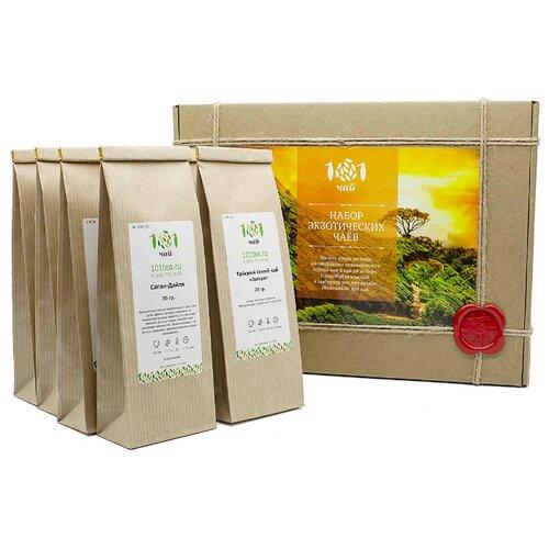 Чай 101 чай Набор экзотических чаев ассорти , 260 г фото
