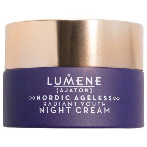 Купить Lumene Ajaton Nordic Ageless Radiant Youth Night Cream интенсивный ночной крем для визуальной коррекции возрастных изменений кожи, 50 мл