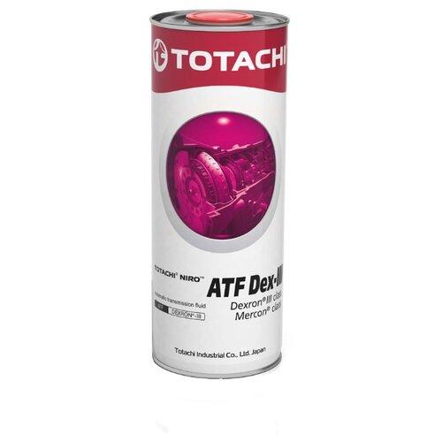 Трансмиссионное масло TOTACHI NIRO ATF Dex-III 1 л трансмиссионное масло totachi atf ws 1 л 1 кг
