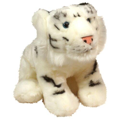 Мягкая игрушка Keel toys белый тигр, 28 см