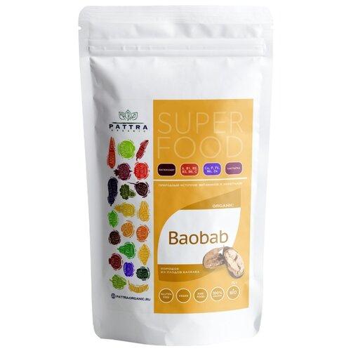 Pattra Organic Порошок из плодов баобаба 75 г