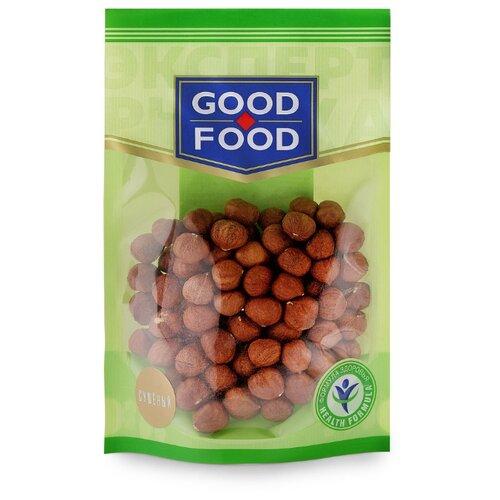 Фундук GOOD FOOD сушеный, пластиковый пакет 130 г конфеты good food марципановое пралине пакет 200 г