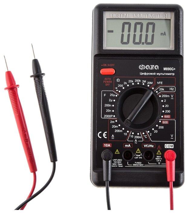 Мультиметр цифровой ФАZA M890G+ — купить по выгодной цене на Яндекс.Маркете в Матвеевом Кургане