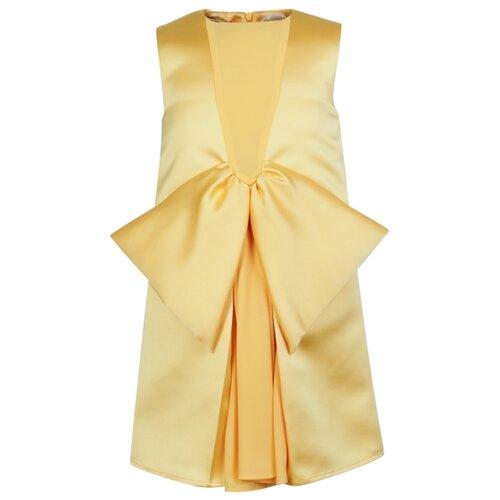 Платье Elisabetta Franchi размер 152, желтый платье elisabetta franchi elisabetta franchi el037ewbqar8