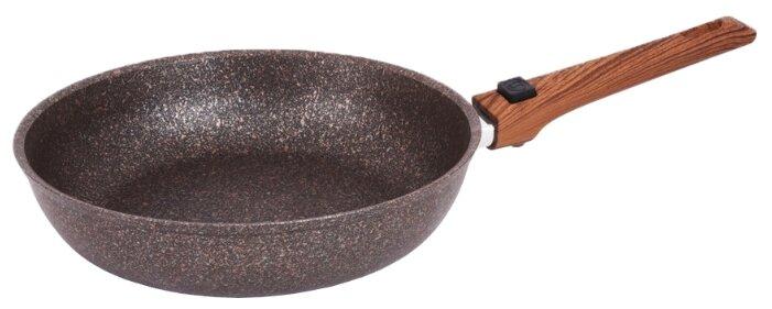 Сковорода Kukmara Granit Ultra 282а 28 см, съемная ручка — цены на Яндекс.Маркете