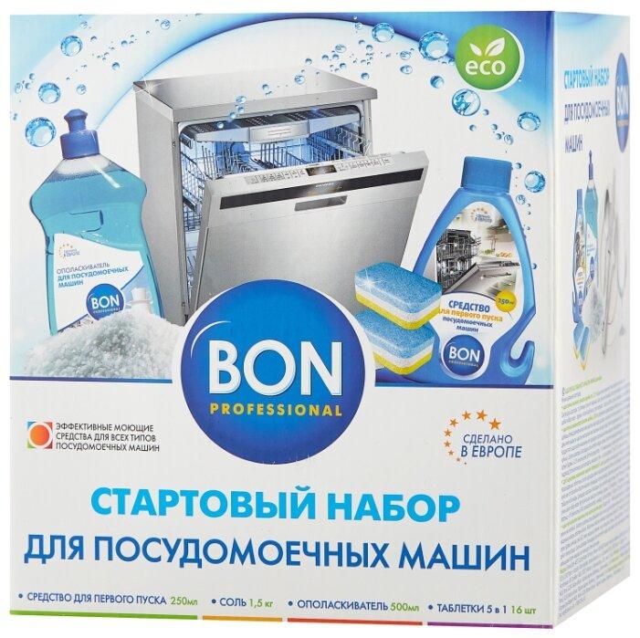 Купить BON стартовый набор для посудомоечной машины по низкой цене с доставкой из маркетплейса Беру