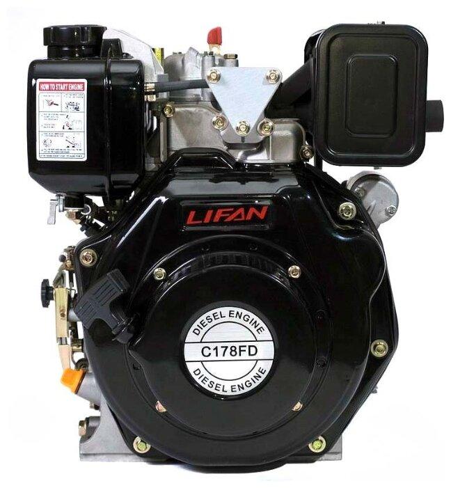 Дизельный двигатель LIFAN C178FD