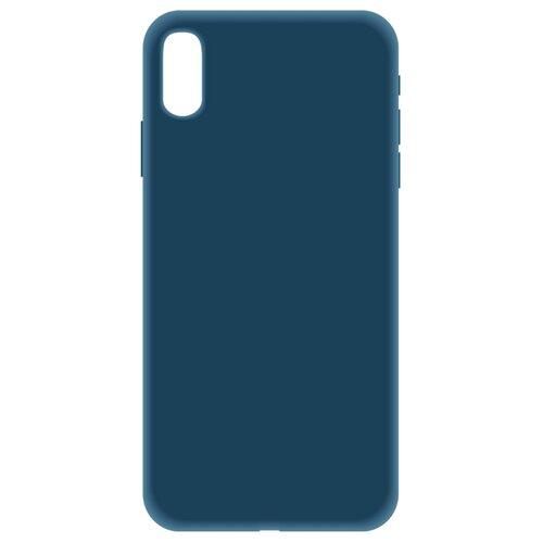 Купить Чехол LuxCase Soft Touch Premium для Apple Iphone Xs Max синий