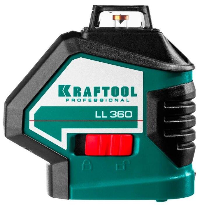 Лазерный уровень самовыравнивающийся Kraftool LL360 (34645)