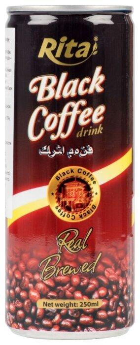 Кофейный напиток Rita Black 0.25 л