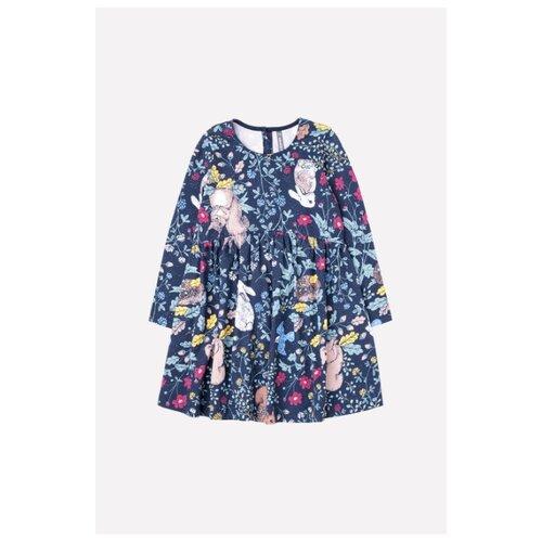 Купить Платье crockid размер 92, индиго, Платья и юбки