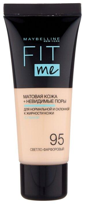 Maybelline New York Тональный крем Fit Me, 30 мл — 19 цветов — купить по выгодной цене на Яндекс.Маркете