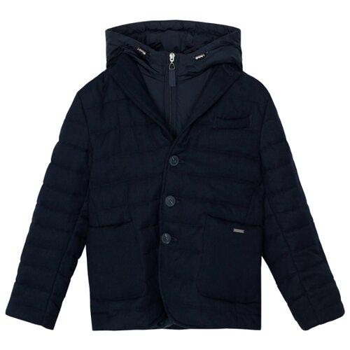 Купить Куртка Gulliver 220GSBC4101 размер 170, синий, Куртки и пуховики
