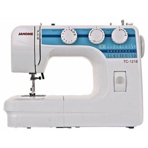 Фото - Швейная машина Janome TC 1218 швейная машина janome tc 1218 белый