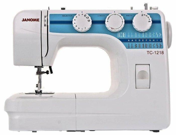 Швейная машина Janome TC 1218 — купить по выгодной цене на Яндекс.Маркете
