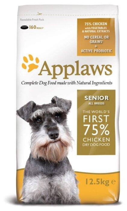 Корм для пожилых собак Applaws курица 12.5 кг