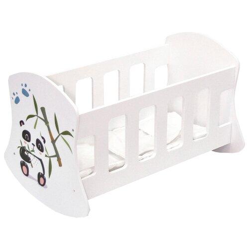 Купить PAREMO Люлька Мимими Крошка По (PFD120-105) белый, Мебель для кукол