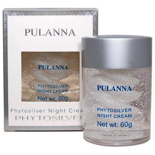 PULANNA Phytosilver Night Cream Ночной крем для лица с серебром, 60 г крем для рук pulanna pulanna mp002xw0fqz7