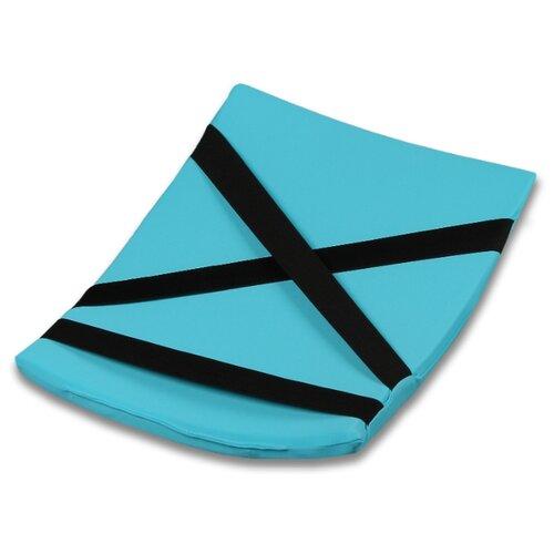 Подушка для кувырков для художественной гимнастики Indigo SM-265 голубой