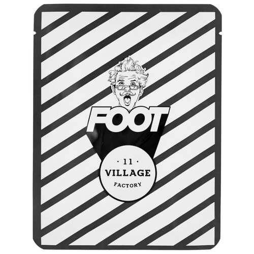 Village 11 Factory Увлажняющая маска-носочки для ног Relax Day Foot Mask 15 г