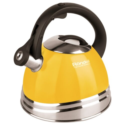 Rondell Чайник Sole RDS-908 3 л, желтый rondell чайник fiero rds 498 3 л красный