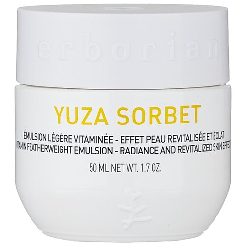 Erborian Yuza Sorbet Featherweight Emulsion Sheer & Strong Protection Увлажняющий дневной крем для лица, 50 мл крем erborian бамбук glow крем для лица объем 30 мл