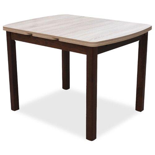 Стол кухонный Стол И Стул Орлеан, раскладной, ДхШ: 1030 х 77.5 см, длина в разложенном виде: 1720 см, орех темный/дуб сонома стол mariott d80 х 74 см