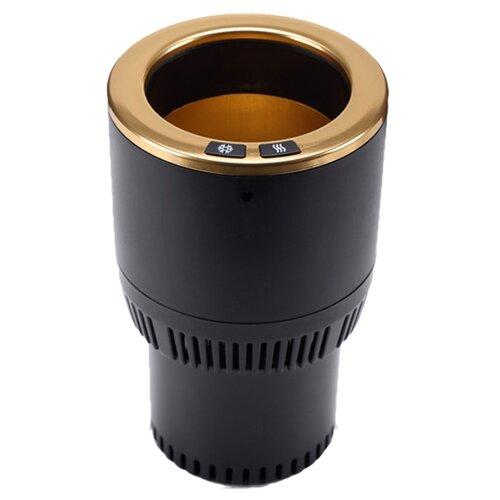 Термоподстаканник Paltier Smart Cup черный с золотом