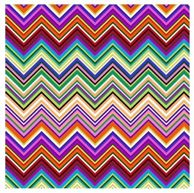 Ткань PePPY 4703 для пэчворка фасовка 50 x 55 см 135±5 г/кв.м зигзаг 624