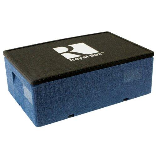 Royal Box Изотермический контейнер Unique синий 32 л
