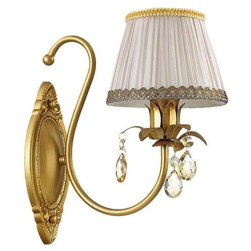 Настенный светильник Odeon light Carolla 3398/1W, 40 Вт настенный светильник odeon light favola 3949 1w 40 вт