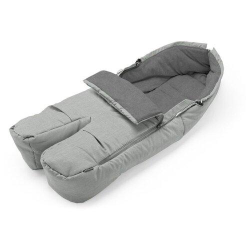 Купить Stokke Муфта для ног Footmuff сиреневый твид, Аксессуары для колясок и автокресел