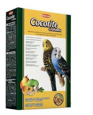 Корм Padovan Grandmix cocorite для волнистых попугаев комплексный основной - 400 г