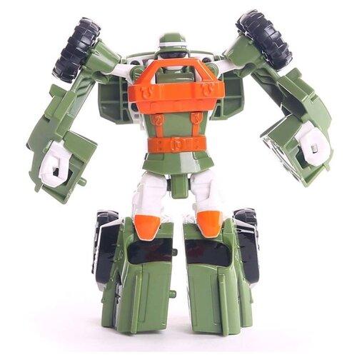 Трансформер YOUNG TOYS Tobot Mini K 301059 зеленый/оранжевый, Роботы и трансформеры  - купить со скидкой