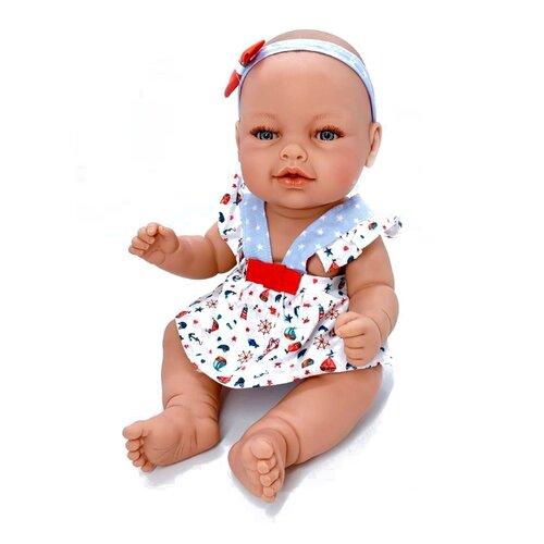Кукла Manolo Dolls Leo nino, 48см, 8068 кукла младенец manolo dolls мягконабивной canguros 30см 4500