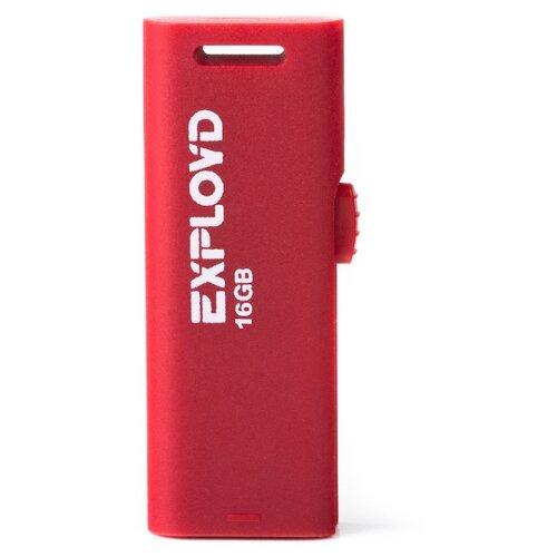 Фото - Флешка EXPLOYD 580 16GB red флешка exployd 560 16gb red