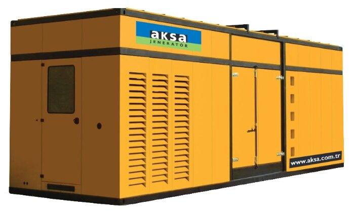 Дизельный генератор Aksa APD 880M в кожухе (640000 Вт)