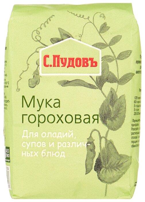 Мука С.Пудовъ гороховая, 0.4 кг