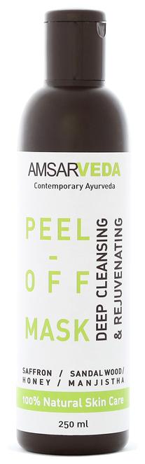 Amsarveda маска-пленка для глубокого очищения пор