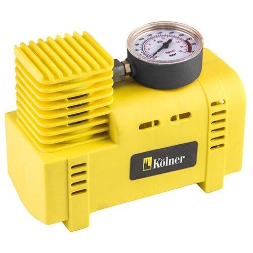 Автомобильный компрессор Kolner KCO 12/19 желтый