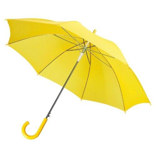 Фото - Зонт-трость полуавтомат Unit Promo (1233) желтый зонт трость полуавтомат три слона 1100 бордовый