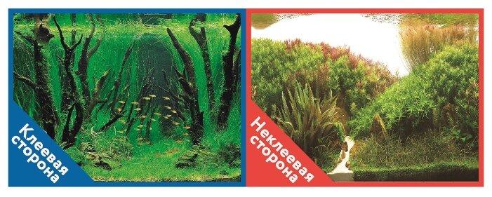 Пленочный фон Prime Коряги с растениями/Растительные холмы