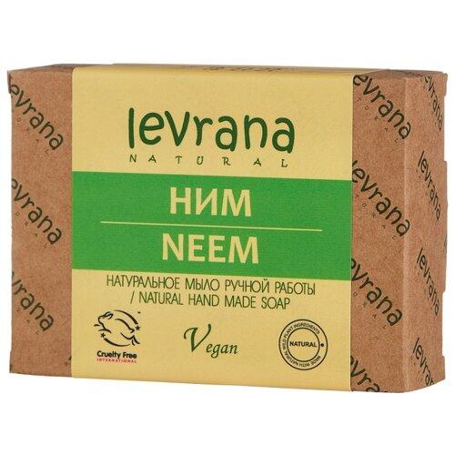 Мыло кусковое Levrana Ним натуральное ручной работы, 100 г levrana натуральное мыло календула 100 г